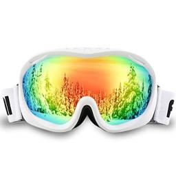 AKASO Ski Goggles an-ti Fog Double Lens Skate Glasses for Men,Women & Youth, UV Protection Windproof Snowboard Skiing Skating.