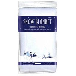 amscan Winter Wonderland Faux Snow Blanket | Christmas Decoration