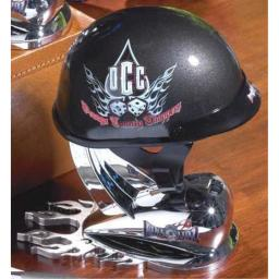 Bike Orange County Choppers Black 1/2 Scale Replica Helmet with OCC Dice Logo 1/2 Die Cast Collectible