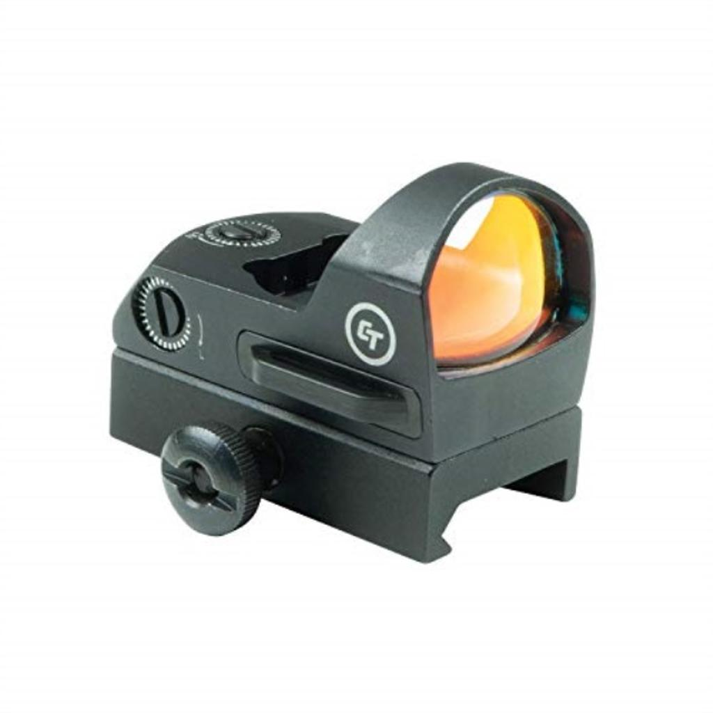 Crimson Trace CTS-1300 3.5 MOA Compact Open Reflex Sight Rifles & Shotguns, Electronic Sight External Battery Compartment, Mount Included