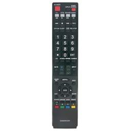Vinabty New GA840WJSA Replaced Remote Fit for Sharp Aquos TV LC-40LE810 LC-40LE820 LC-46LE810 LC-46LE820 LC-52LE810 LC-52LE820 LC-60LE810 LC-60LE820 TINS-E517WJZZ TINS-E589WJZZ 10P03-MX-NM 10P02-MX-NM