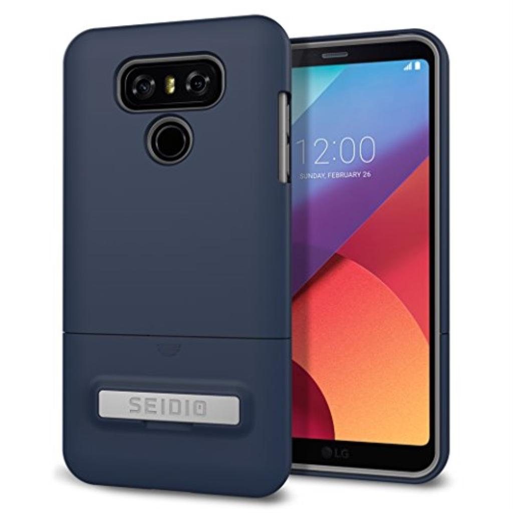 pretty nice 62f93 5d88c Seidio Cell Phone Case for LG G6 - Midnight Blue/Gray