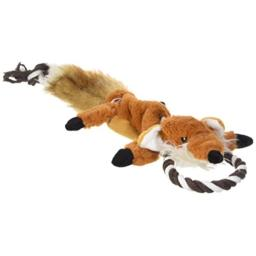 SPOT Ethical Pets Forest Fox Skinneeez Tugs Stuffingless Dog Toy, 23""