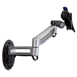 Balt Dual Arm Wall Mount for Flat Panel Monitors Capacity up to 23 and 30 lbs (66582)