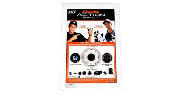 Action Shot HD POV Camera Bonus Pack (Includes HD Video Camera Viewer Case Memory Card and Mounting Kit) Action Shot HD POV Camera Bonus Pack (Includes HD Video Camera Viewer Case Memory Card and Mounting Kit)