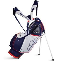 Sun Mountain 4.5Ls Supercharged Stand Bag Navy/Red