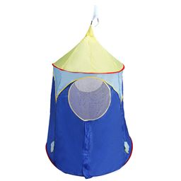 Blue Foldable Castle Kids Play Tent