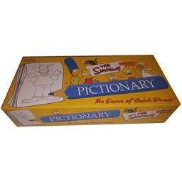 USAOPOLY Pictionary - The Simpsons Edition (2002)