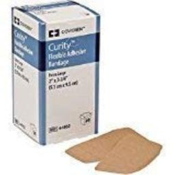 CURITY ADHESIVE BANDAGES 2 X 3.75 FLEXIBLE, BOX OF 50