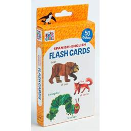 World of Eric Carle (TM) Spanish-English Flash Cards: (Bilingual Flash Cards for Kids, Learning to Speak Spanish, Eric Carle Flash Cards, Learning a Language)