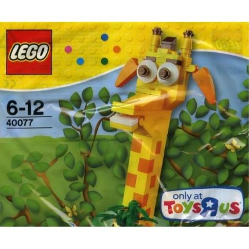 Lego 40077 Toys R Us Geoffrey New Sealed Poly Bag Exclusive Contains 90 pieces
