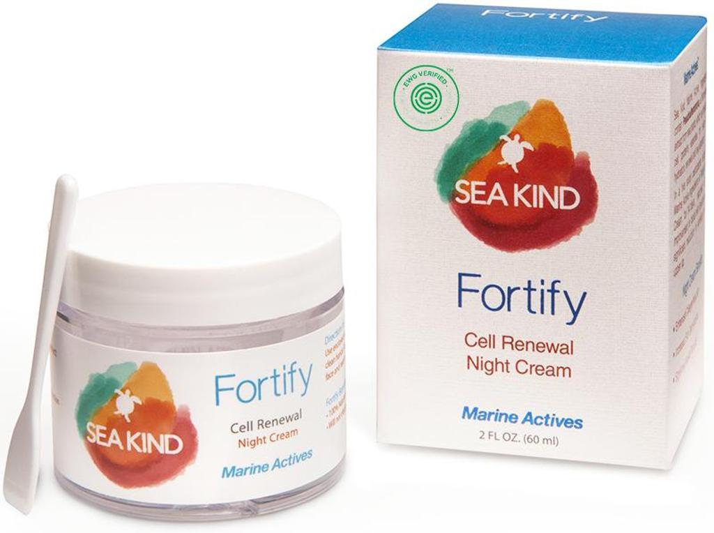Sea Kind Fortify Cell Renewal Night Cream - 2 oz