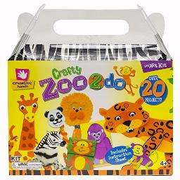 Creative Hands Zoo 2 Do Craft Tote