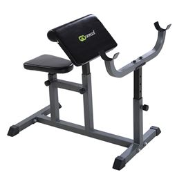 Adjustable Commercial Preacher Arm Curl Weight Bench