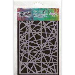 Ranger Dyan Reaveleys Dylusions Stencils Shattered Small