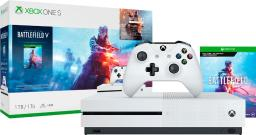 Microsoft Xbox One S 1TB Battlefield V Bundle with 4K Ultra HD Blu-ray - White