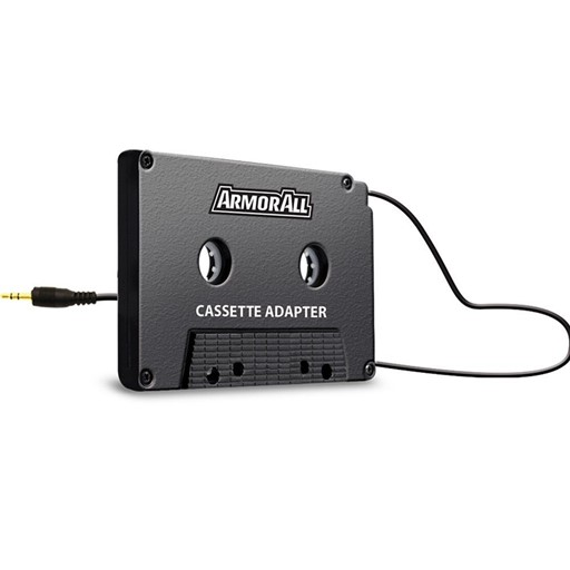 Armor All 3.5Mm Audio Mp3 Great Cassette Car Adapter