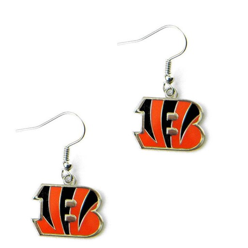 NFL Cincinnati Bengals Logo Dangle Earring Set Charm Gift