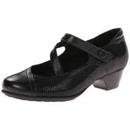 Aravon Women's Portia - AR Dress Pump,Black Multi,9.5 D US