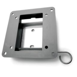 Vantage Point AXFL01SLCD Flat Wall Mount - Silver (Discontinued by Manufacturer)