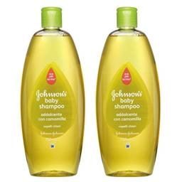 Johnson's Baby Shampoo, Chamomile, 25.3 Ounce / 750 Ml (Pack of 2)