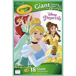 Disney Princess Giant Coloring Pages