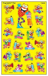 Frog-tastic! Fun superShapes Stickers-Large