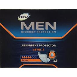 Tena Men Absorbent Protector Level 3 Pads - Pack of 16 by Tena