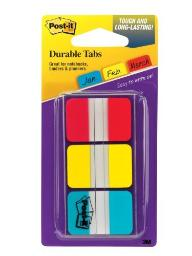 3M 686-RYBT 36 Pack 1 Durable Tabs
