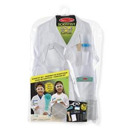 Melissa & Doug 18536 Jeu de Rôles Costume de Scientifique, One Size