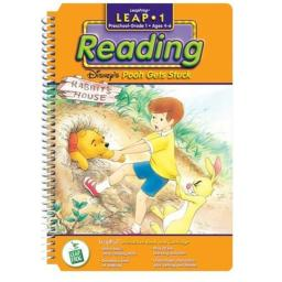 First Grade LeapPad Book: Pooh Gets Stuck