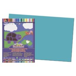 Pacon SunWorks Construction Paper, 12-Inches by 18-Inches, 50-Count, Turquoise (7707)