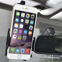 AMZER Anywhere Magnetic Vehicle Mount Holder for Apple iPhone 7 Plus, iPhone 6/ 6s Plus - Black