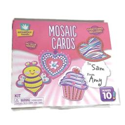 Creative Hands Mosaic Cards Tags Kit Valentine's Love hearts Makes 10 cards