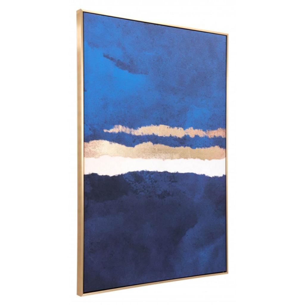 Zuo Home Decorative Ocean Horizon Canvas - Multicolor