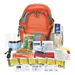 PhysiciansCare 90001 Emergency Preparedness First Aid Backpack, 63 Pieces/Kit