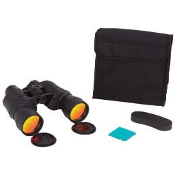 Magnacraft 10x50 Binoculars with Ruby Red Coated Lenses for Glare Reduction