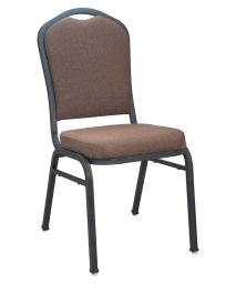 Offex Contemporary Stackable Premium Java Crown Back Banquet Chair
