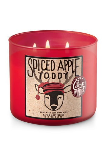 Bath & Body Works Spiced Apple Toddy Scented Candle C8B7A51452C805A0