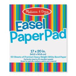 Melissa & Doug LCI4102BN Easel Pad, 17 x 20 in. - Pack of 3