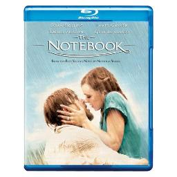 NOTEBOOK (2004/BLU-RAY/WS-16X9/BOOK/PHOTOS/BOOKMARKS/NOTECARDS) 794043140624