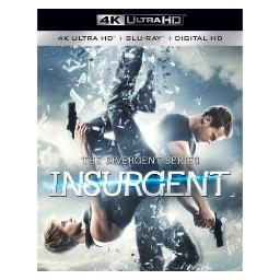 Insurgent (blu-ray/4kuhd/mast/ultraviolet) (ws/eng/eng sub/sp sub/eng sdh) BR49790