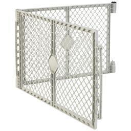 North States 8662 White North States Superyard Xt Pet Gate Extension Kit 2 Panel White 30 X 26