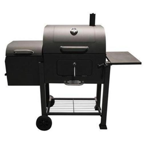 11 in. Vista Barbecue Charcoal Grill with Offset Smoker