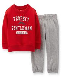 Carter's Baby Boys' Perfect Little Gentleman Just Like Daddy Valentine Set