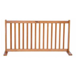 20 in. All Wood Large Free Standing Gate Artisan Bronze