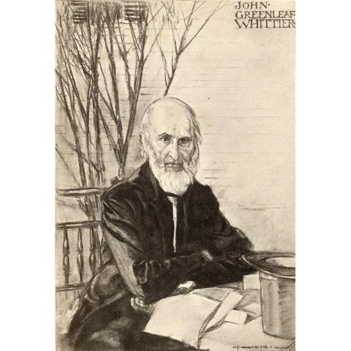 Posterazzi DPI1838768LARGE John Greenleaf Whittier 1807-1892 American Abolitionist & Poet From An Illistration by A.S. Hartrick Poster Print, Large -
