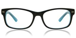 Full Rim Square Blue SmartBuy Kids Jayden AM87G Fashion Kids Eyeglasses