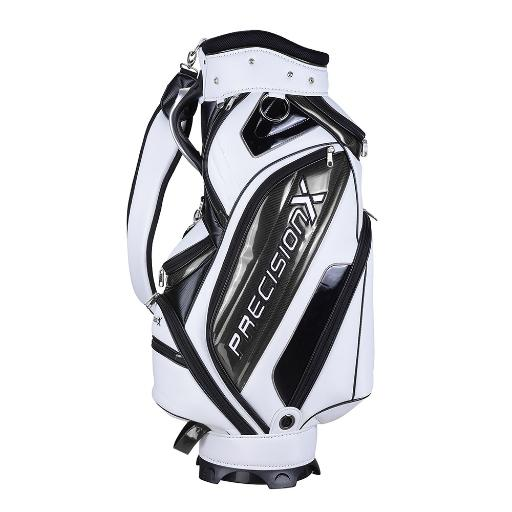 Men's Waterproof Golf Bag w/ 9 Pockets 5-way Mesh Top For Male Adult Golf Accessory Sport