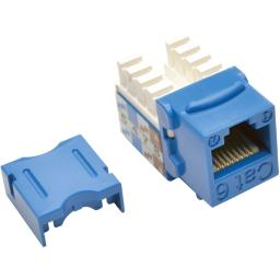 Tripp Lite N238-001-Bl Blue Cat6/Cat5E Rj45 110 Punch Down Keystone Jack